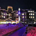 Grand Montana, Bansko, Bulgaria - exterior night