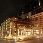 lion Hotel, Bansko, Bulgaria - night