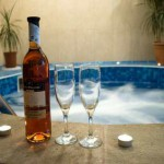 Donchev Hotel, Bansko, Bulgaria - wine glasses