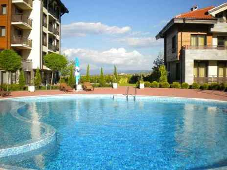 Murite Club Hotel, Bansko, Bulgaria - , Bansko, Bulgaria - outside pool